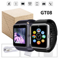 Smart Watch GT08 Wrist Watch Men Sport watch iPhone 6 Samsung S4/Note 2/Note 3 HTC Android Phone