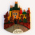 Souvenir magnets with Prague Karlov bridge, world city fridge magnets, handpainted fridge magnet wholesale, GH2-17