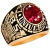 College Class Ring Land University