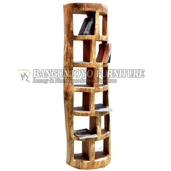 Suar wood Book Rack