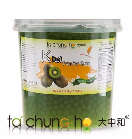 Hot Sale Wholesale Taiwan 3kg TachunGho Kiwi Fruit Popping Boba