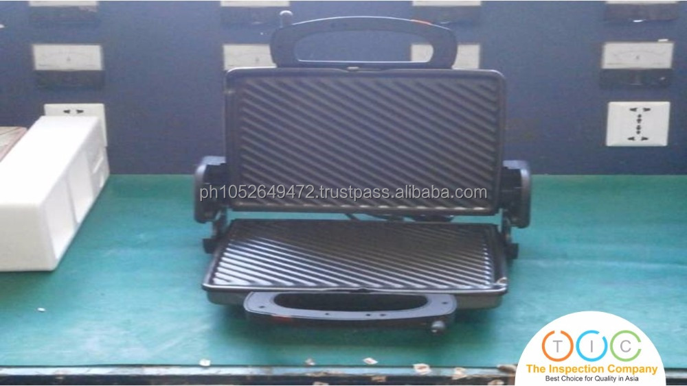 Pre Shipment Inspection for Electric Grill in China
