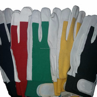 Whole Sale Low Prices Elastic Cuffs Gloves Gardening Oil And Coal Cycling New Made In Pakistan