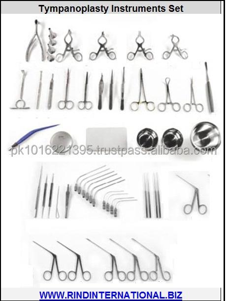 Tympanoplasty Surgery Instruments Set Tympanoplasty