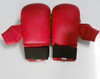Red Karate Sparring Mitts Competition Martial Arts Training Karate Gloves Mitt