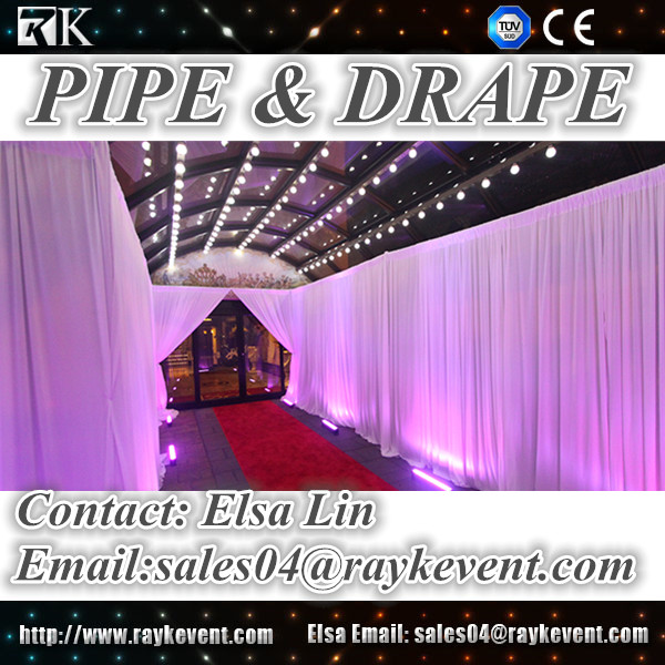 High quality backdrop wedding/photo studio backgrounds pipe and drape