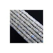 Rainbow Moonstone 5-5.5mm Faceted Beads Strand