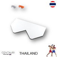 80*45*0.6 cm Fish-Scale new red full body white full body grey full body Thai cray roof tiles from Thailand