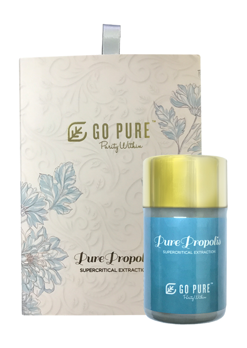 Go Pure Pure Propolis / extracted from superior green Brazilian Propolis using modern technologies