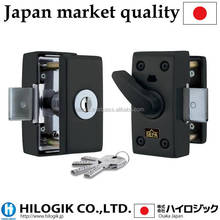 new products looking for distributor HINAKA Security door locks with dimple cylinder key HDS-3000D-BK made in Japan