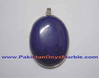 EXPORT QUALITY LAPIS LAZULI STERLING SILVER PENDANTS JEWELRY