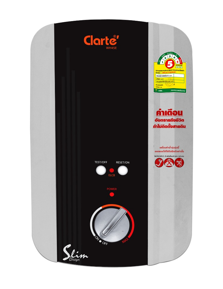 Single Point Water Heater 4500 Watts Clarte' WH-45E