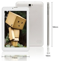 7 inch Phone Tablet from TabletCountry in USA, IPS Screen, Dual sim, 3G, Model PT-718