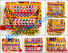 Gujarati Traditional kutch embroidery clutch handbags-Wholesale Indian embroidery clutch handbags from Gujarat