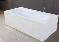 Bensonite retangular bathtub