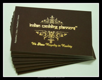 gold foil business card printing