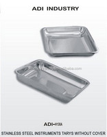 INSTRUMENTS TRAYS WITHOUT COVER HIGH QUALITY STAINLESS STEEL DIRECT PRICE