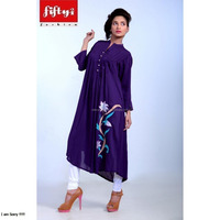 New Fashionable & Stylish Summer Wear Long Kurta For Ladies
