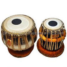 Tabla with black design