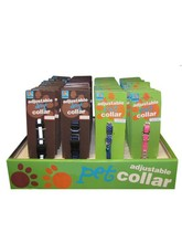 Dog and Cat Collars Display