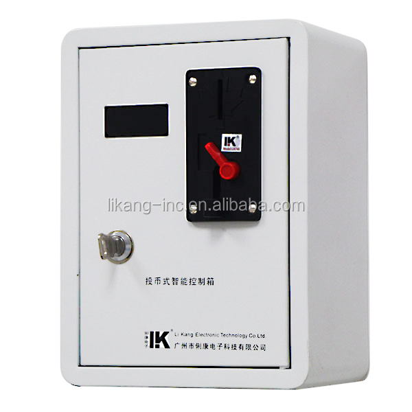 LK--X174A Electronic coin operated mobile phone charger with factory price