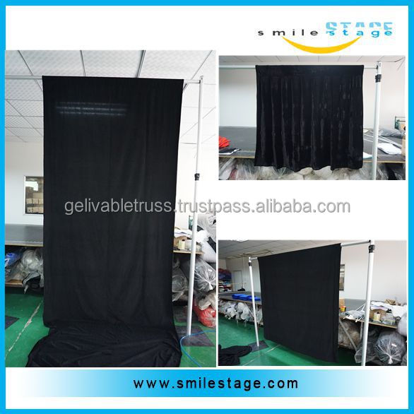 Portable Event Aluminum Backdrop Stand Pipe Drape for Party