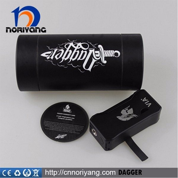 2016 Newest Temperature Control Vape Mod Dagger 80W TC Mod from alibaba