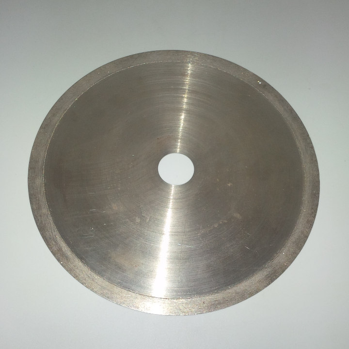 "DIAMOND SAW BLADE SIZE : 8"" X 0.8mm X 1"" (255 grm) CUTTING FOR : GEM STONE, GLASS, ASPHALT, CERAMIC, MARBLE, GRANITE"