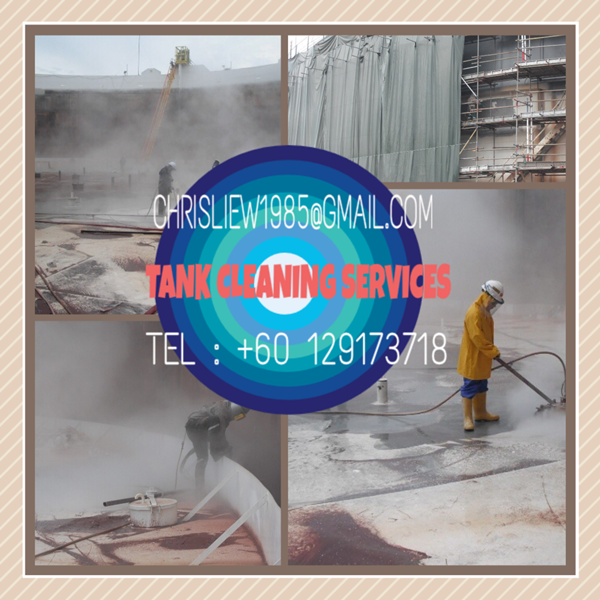 Tank Cleaning - Crude oil tank desludging & cleaning services
