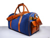 Leather Canvas Luggage Bag