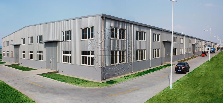 Prefabricated steel structure heavy duty sandwich panel warehouse for sale