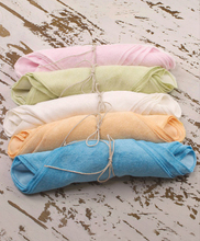 Baby Washcloths / Wipes - 5 Pack Organic Bamboo Made in USA