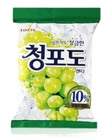 KOREA LOTTE Confectionery Candy Greengrape