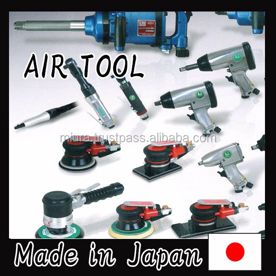 Professional and Reliable Vertical Polishers Air-tool with Various types of made in Japan
