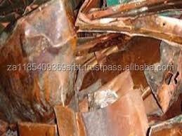 Scrap Copper with Tar