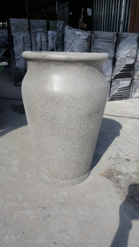 Cement Flower Vase PLANTER set 2