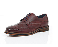 Mens Leather Oxford Brogue