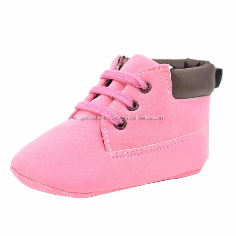 Baby Soft Warm Sole Leather Shoes Infant Boy Girl Toddler Shoes, Custom Color Baby Shoes