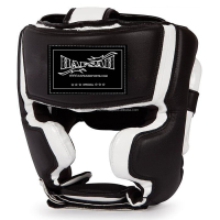 Custom Leather Boxing Helmet/Head Guard/Boxing Headgear