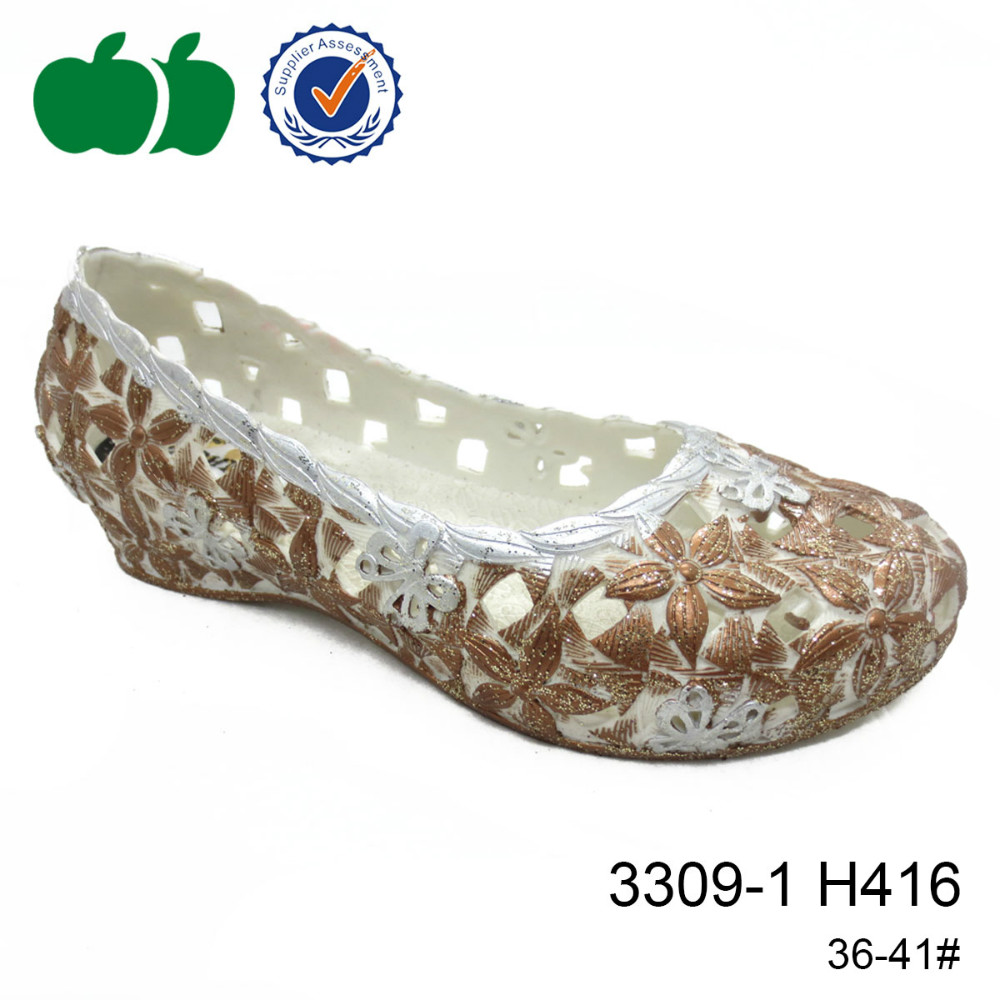 Colorful flower print fashion design foldable soft pcu casual shoes for ladies
