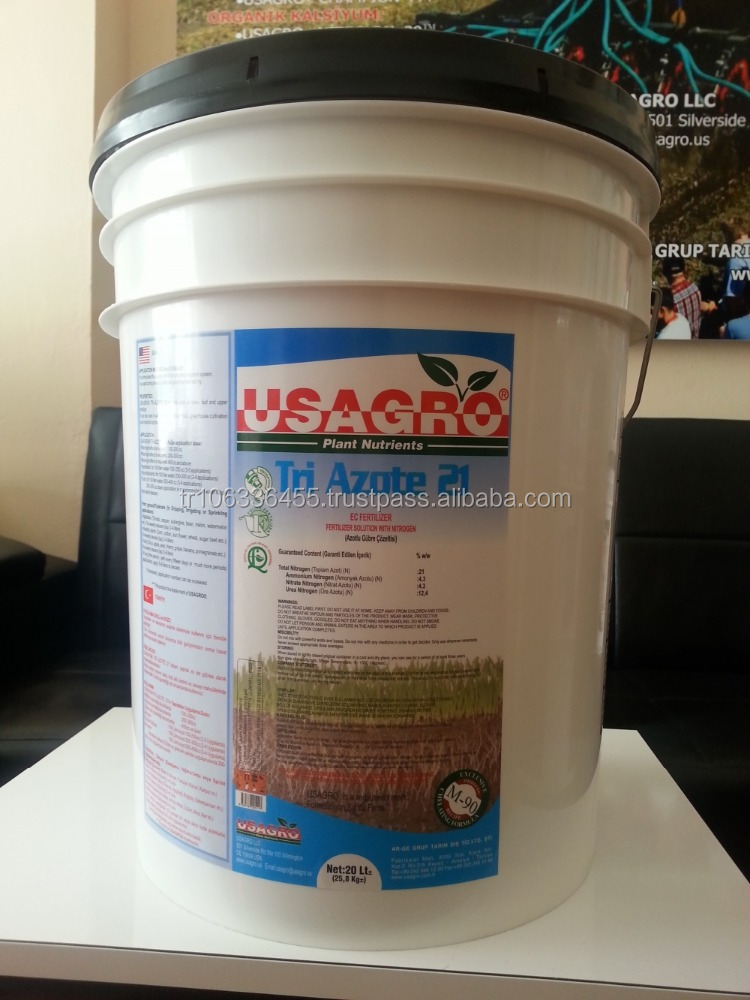 Organic Urea Ammonium Nitrate (UAN) Liquid Fertilizer