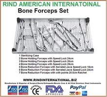 Bone Forceps Set Orthopedic Bone Forceps Set Bone Reduction Clamps Set