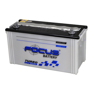 Dry charged car battery N100/N100A