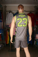 low price wholesale basketball wear wholesale cheap reverisible basketball set