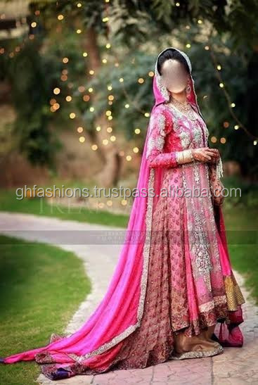 Pakistani Jamavar Bridal wedding dress