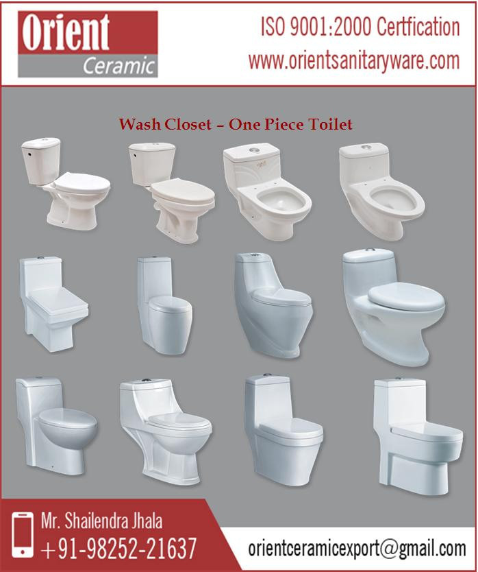 Unique Water Closet With Cistern - One Piece Toilet Price