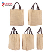 GFTCL German Standard Jute Tote/Hobo/Beach/Shoulder/Fancy/wine/Bottle/Conference Bag