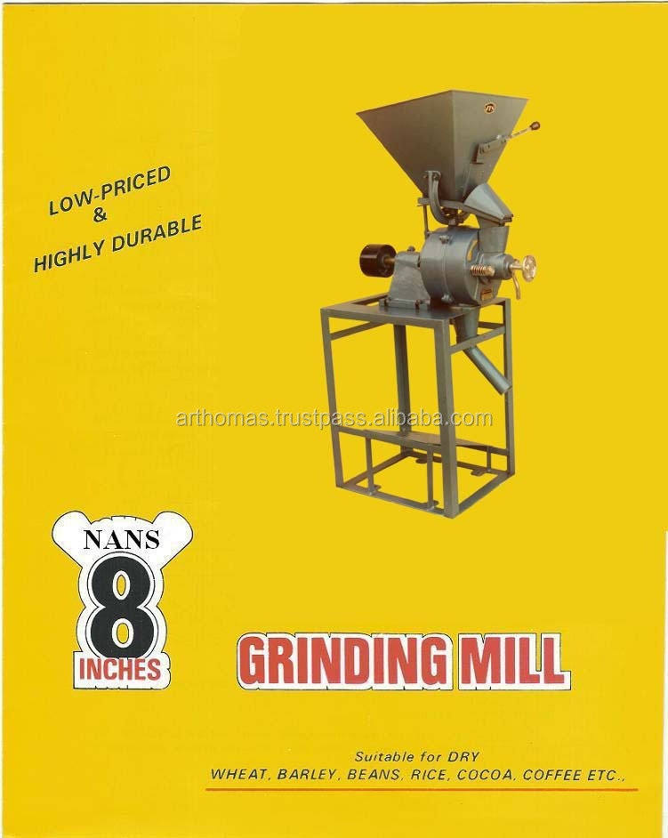 spice grinding mill for making fine spice powder