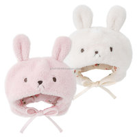 baby boa caps and hats wholesale cute animal ear high quality check dot pattern lining and strap infant wear child clothes