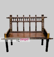 Indian Heritage Style Wooden Living Room sofa